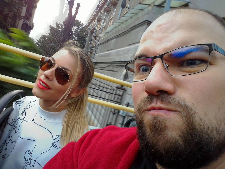 Bucharest City Tour selfie